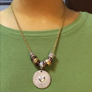 Arizona Jean Co necklace with heart on pendant